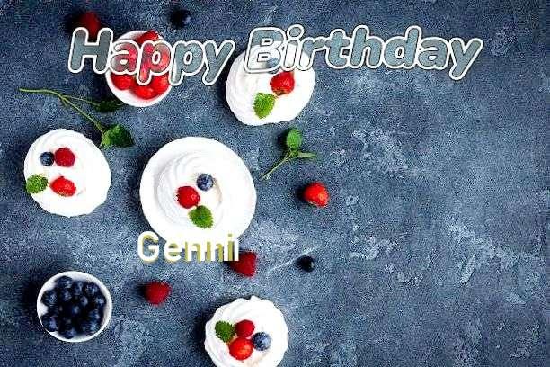 Happy Birthday to You Genni