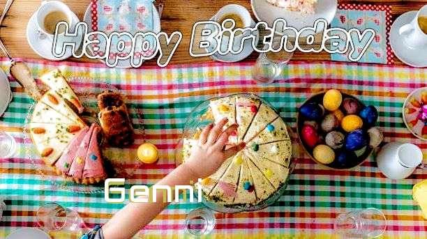 Happy Birthday Cake for Genni