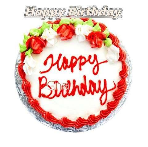 Happy Birthday Cake for Gina