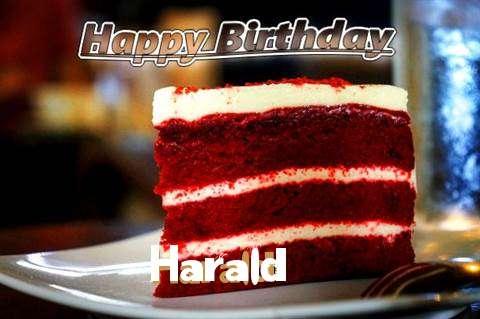 Happy Birthday Harald