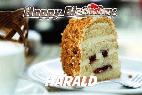 Happy Birthday Wishes for Harald