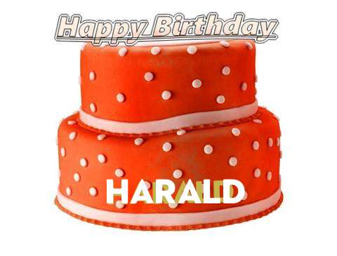 Happy Birthday Cake for Harald