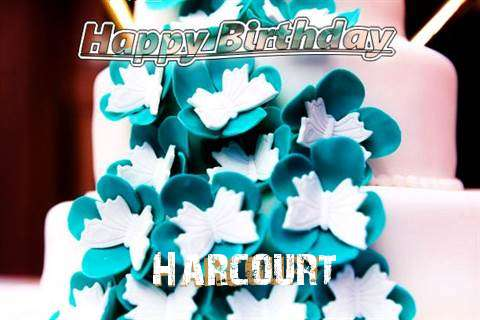 Birthday Wishes with Images of Harcourt
