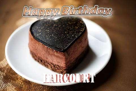 Happy Birthday Cake for Harcourt