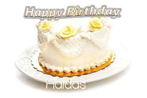 Happy Birthday Cake for Hardas