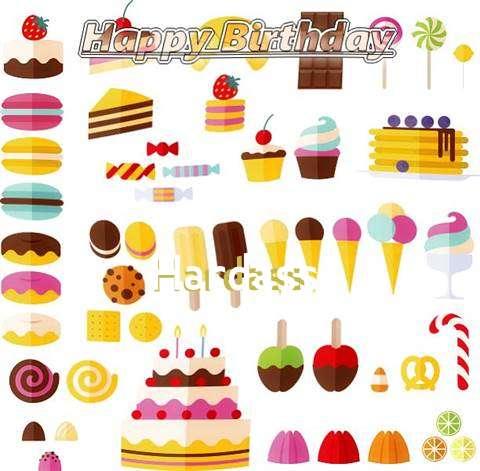 Happy Birthday Hardass Cake Image