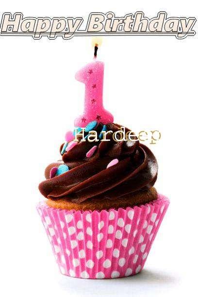 Happy Birthday Hardeep Cake Image