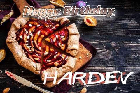 Happy Birthday Hardev Cake Image