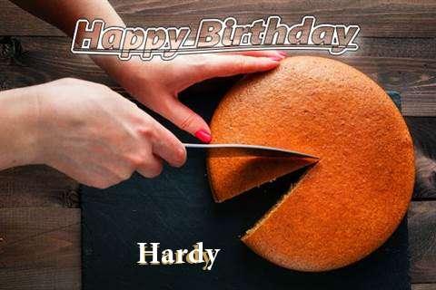 Happy Birthday to You Hardy