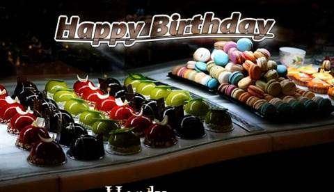 Happy Birthday Cake for Hardy