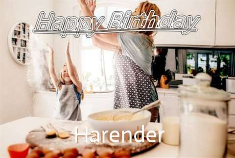 Birthday Wishes with Images of Harender