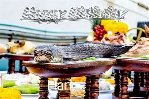 Hari Birthday Celebration