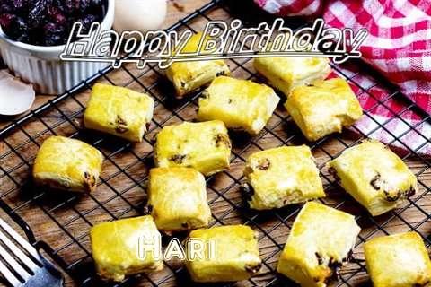 Happy Birthday to You Hari