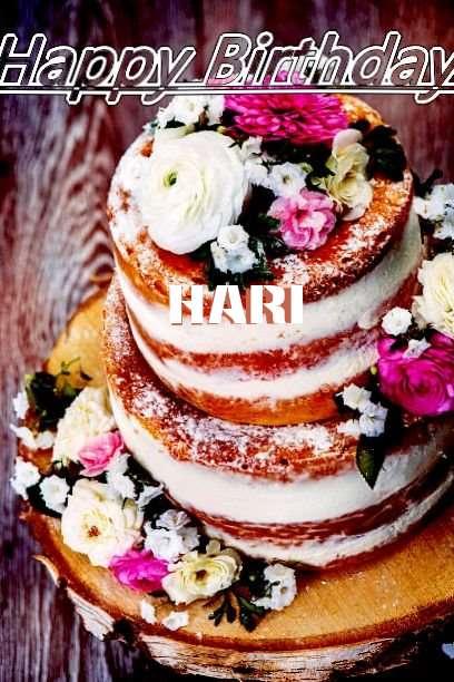 Happy Birthday Cake for Hari