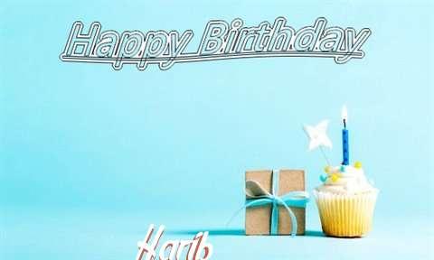 Happy Birthday Cake for Harib