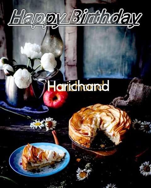 Happy Birthday Harichand Cake Image