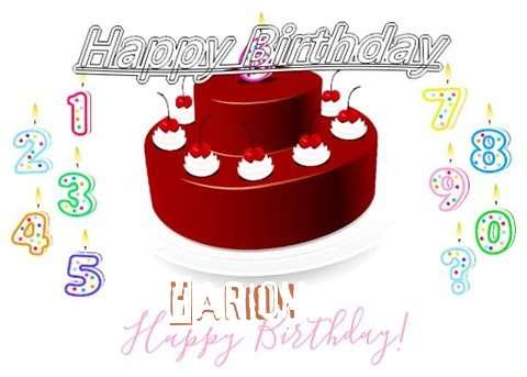 Happy Birthday to You Hariom