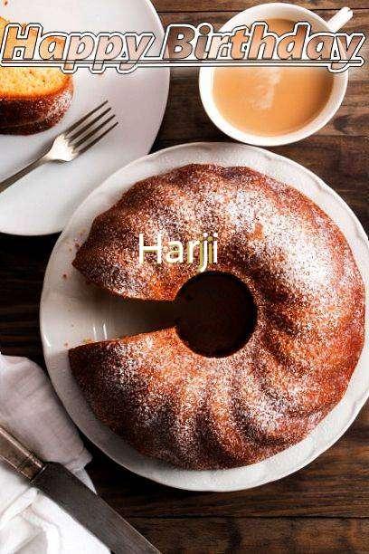 Happy Birthday Harji Cake Image