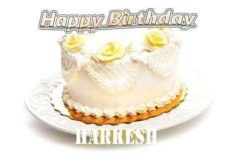 Happy Birthday Cake for Harkesh