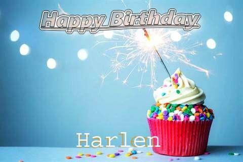 Happy Birthday Wishes for Harlen