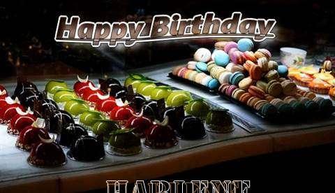 Happy Birthday Cake for Harlene