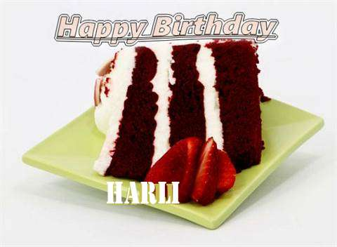 Birthday Wishes with Images of Harli