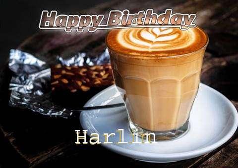 Happy Birthday Harlin Cake Image