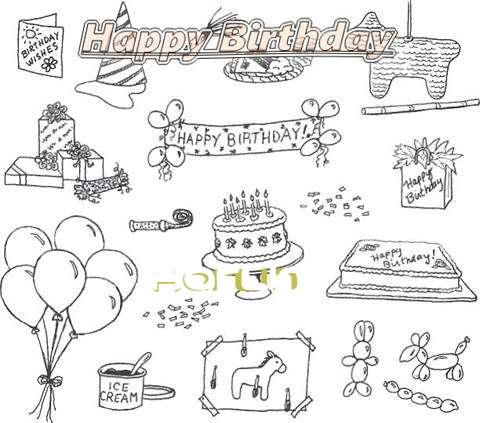 Happy Birthday Cake for Harlin