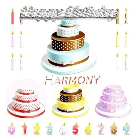 Happy Birthday Wishes for Harmony
