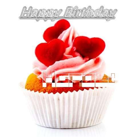 Happy Birthday Harold