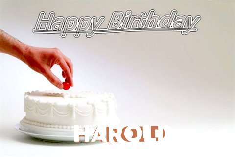 Happy Birthday Cake for Harold