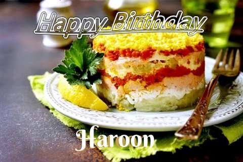 Happy Birthday to You Haroon