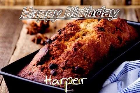 Happy Birthday Wishes for Harper