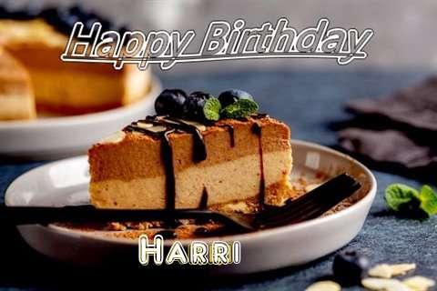 Happy Birthday Harri Cake Image