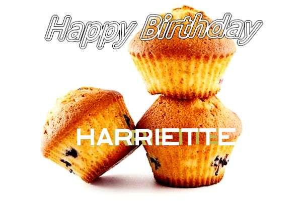 Happy Birthday to You Harriette
