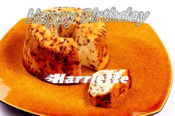 Happy Birthday Cake for Harriette