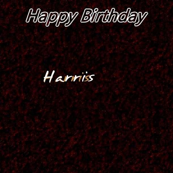 Happy Birthday Harris Cake Image