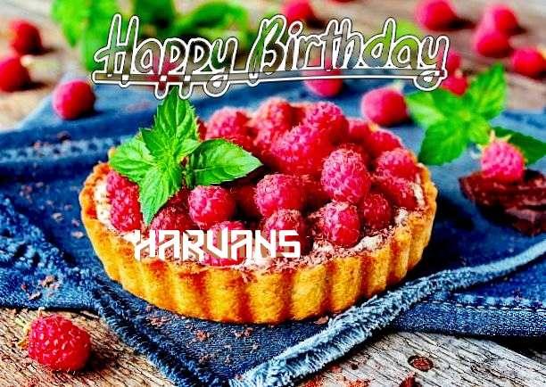 Happy Birthday Harvans Cake Image