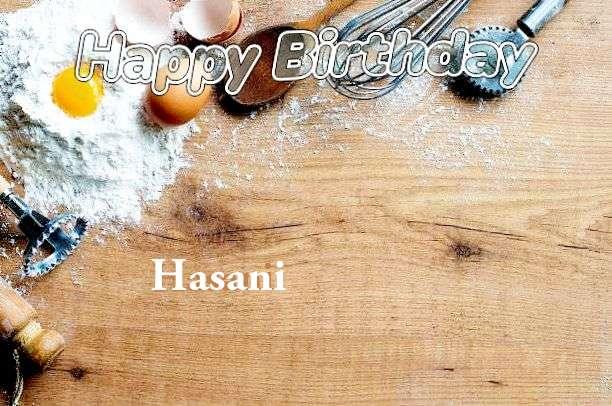 Happy Birthday Cake for Hasani