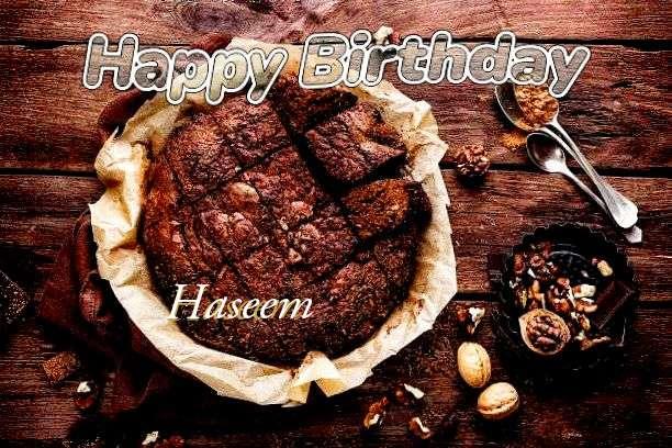 Happy Birthday Cake for Haseem