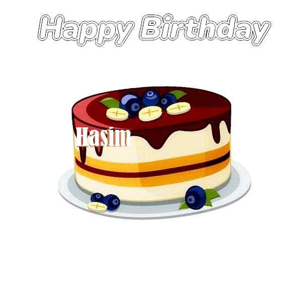 Happy Birthday Wishes for Hasim
