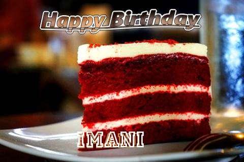 Happy Birthday Imani