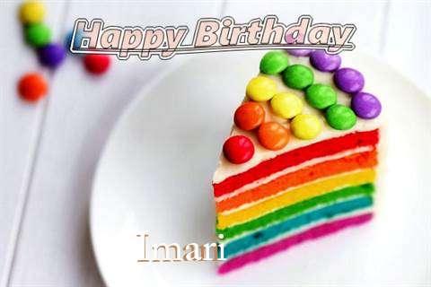 Imari Birthday Celebration