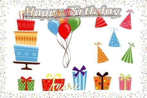 Happy Birthday Wishes for Imari