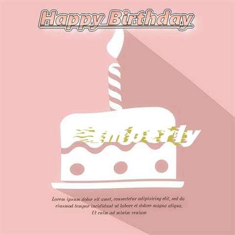 Happy Birthday Imberly