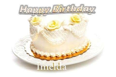 Happy Birthday Cake for Imelda