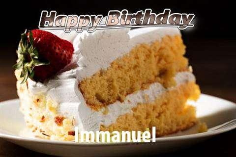 Happy Birthday Immanuel