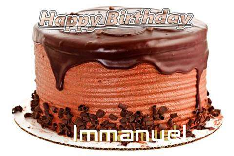 Happy Birthday Wishes for Immanuel