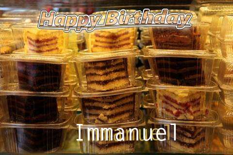 Happy Birthday to You Immanuel
