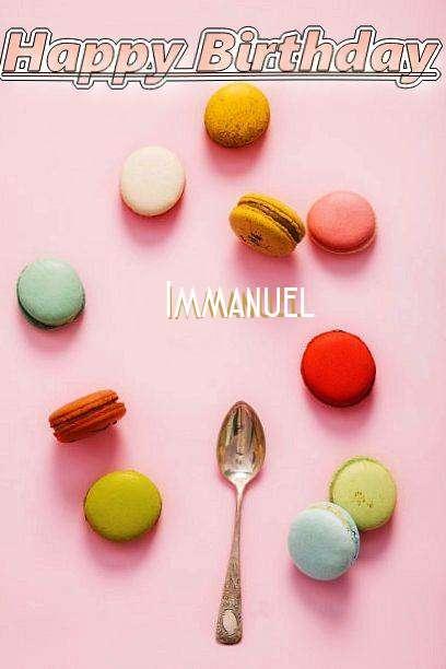 Happy Birthday Cake for Immanuel